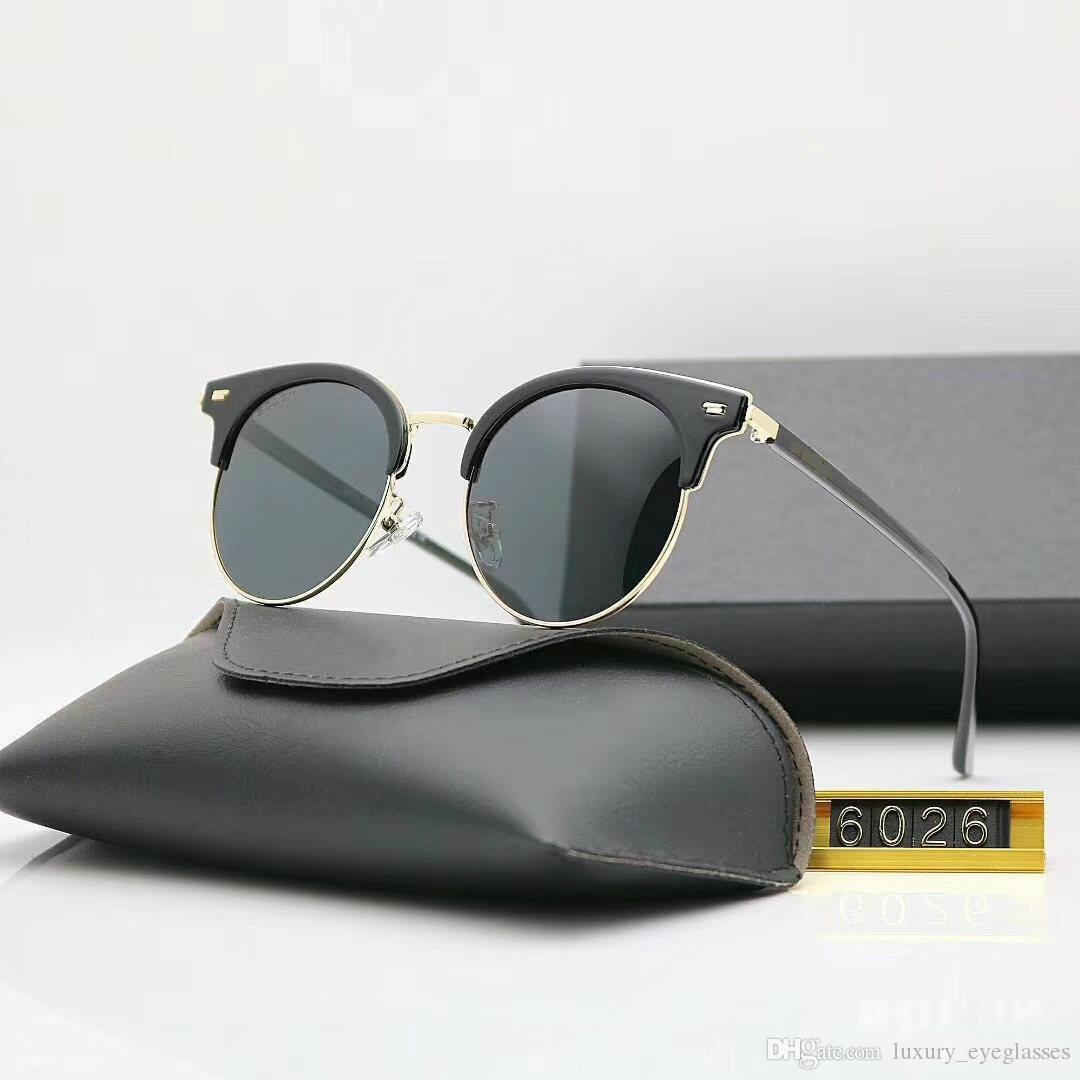 8ec7a3321c4e High Quality Brand Designer Fashion Men Sunglasses UV Protection ...