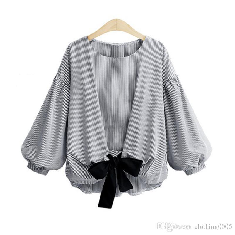 96a08852a7b 2018 New Women Spring Summer Blouse Shirt Plus Size 5XL Loose ...