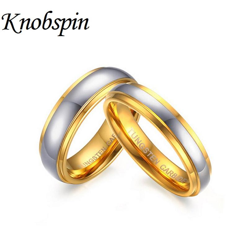 2018 High Quality Us Size 6 11 Couple Ring Tungsten Carbide Wedding