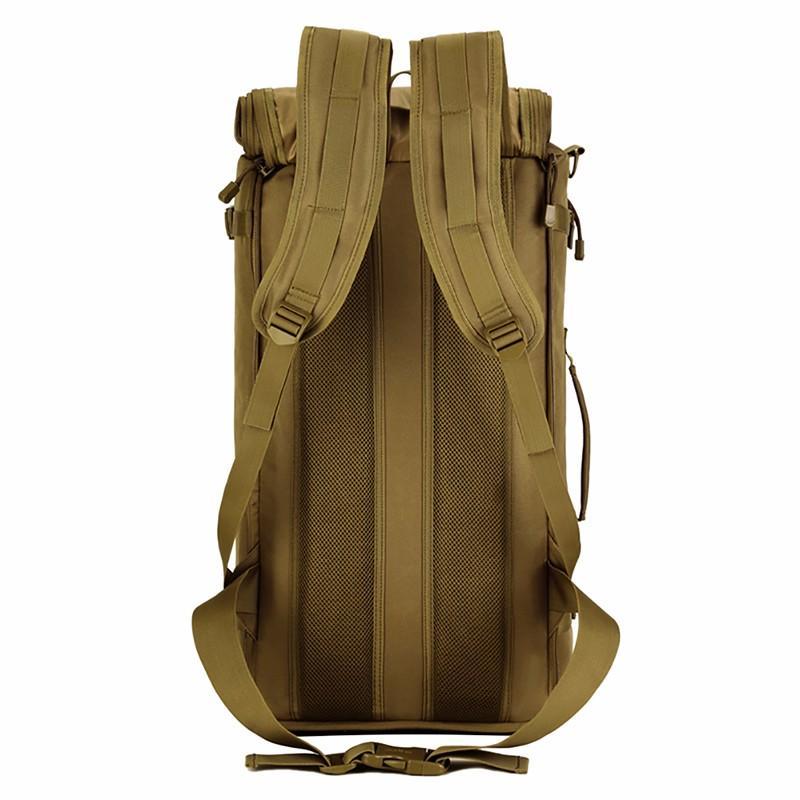 Tático Militar MOLLE Assalto Pacote 3 Way Modular Anexos 50L Grande Saco À Prova D 'Água Mochila Ao Ar Livre Camping Engrenagem