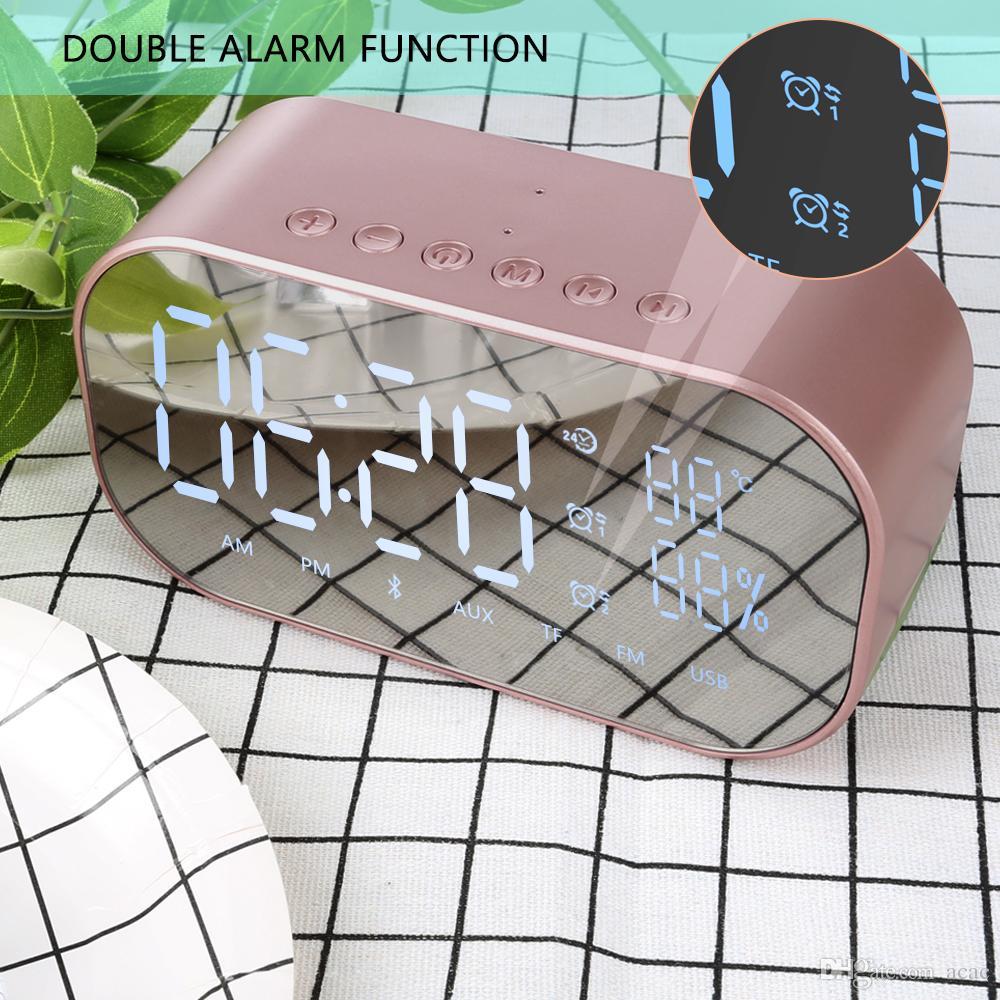 2018-S2 Wireless Bluetooth Speaker Wireless Mini Mobile Alarm Clock Small Audio Computer Car Subwoofer Stereo Sound