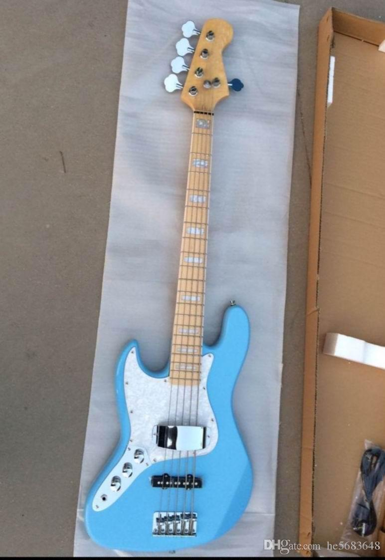 Wholesale High Quality,5 strings bass guitar.Custom Left hand Electric Guitar .Best Price Top Quality musical instrument.Free shippin141001
