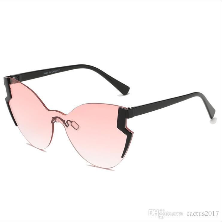 52a1ec1bc6 BRAND DESIGN Women Cat Eye Sunglasses 2018 Female Retro Style Shades UV400  Oculos De Sol Feminino Sunglases Cheap Designer Sunglasses From Cactus2017