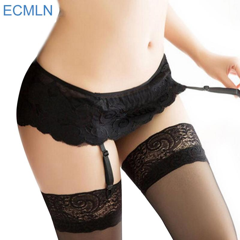 5a7f76706e6 2019 New Womens Sexy Fashion Black Lace Top Thigh Highs Stockings Garter  Belt No Stocking From Easme