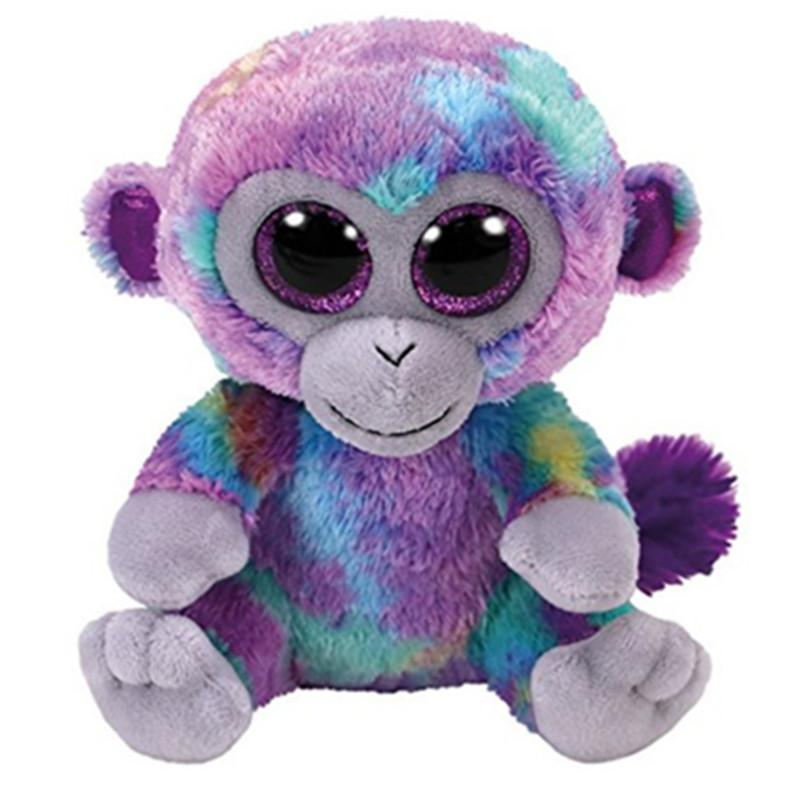 9b44a78b114 2019 Ty Beanie Boos 6 15cm Zuri The Monkey Plush Regular Soft Big Eyed  Stuffed Animal Collectible Doll Toy With Heart Tag From Paradise02