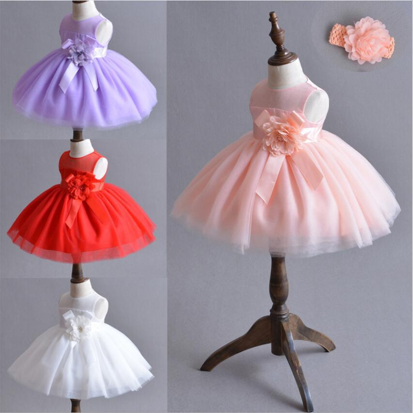 3f5f7a875 2019 2018 Vintage Baby Girl Dress Baptism Dresses For Girls 1st Year ...