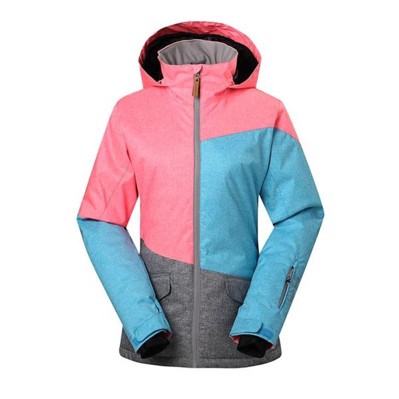 6925bc774a 2019 GSOU SNOW Three Colorful Women Snow Jackets Snowboarding Clothing  Outdoor Sports Overcoats 10K Waterproof Warm Winter Costumes From  Dragonfruit