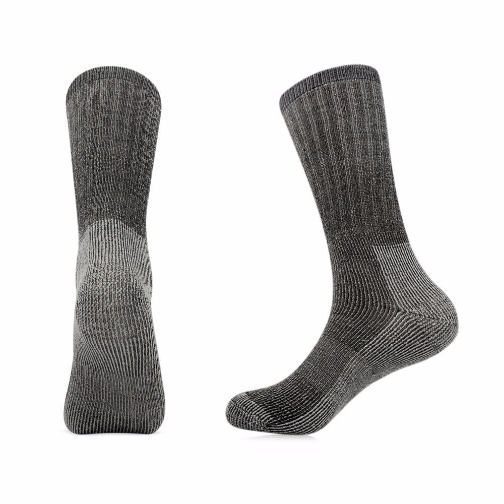 24cbe2db8d 2019 Vihir Men'S Cushioned Thick 80% Merino Wool Crew Sports Sock Skiing Socks  Hiking Socks Cycling Running From Java2013, $61.19   DHgate.Com