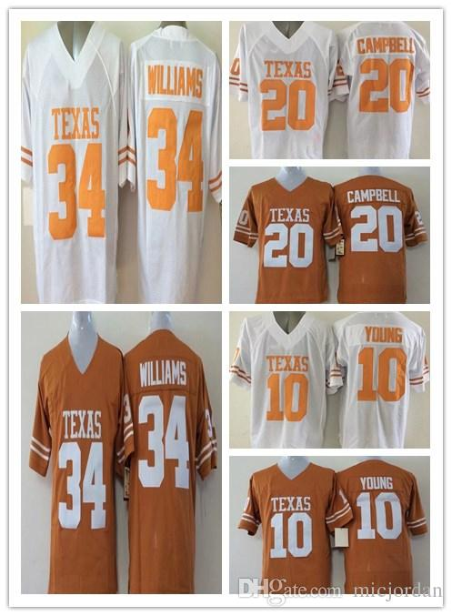 College Jerseys 34 Connor Williams 10 Vince Young 12 McCoy 20 Earl Campbell  Stitched Jerseys Connor Williams Vince Young McCoy Online with  20.99 Piece  on ... 25c77c470
