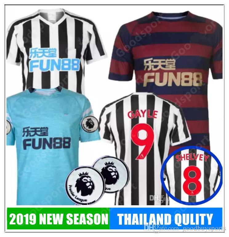 19 Newcastle United Soccer Jersey 2018 2019 Home Away MITROVIC ATSU ... fdf59188a