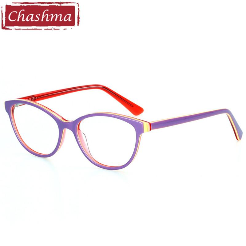81776040f2 Chashma Brand Acetate Material Small Face Eyeglasses Trend Stylish ...