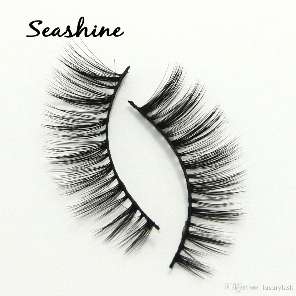 6ffb726a490 Seashine Exy 100% Handmade Wholesale 3D Mink Eyelashes For Makeup ...