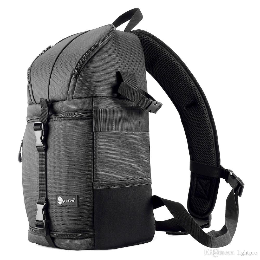 cb899ba93aed 2019 Ightpro Camera Stylish Photo Sling Bag Shoulder Cross Digital Case  Waterproof Camera Sling Soft Men Women Bag For Canon Nikon Sony From  Lightpro