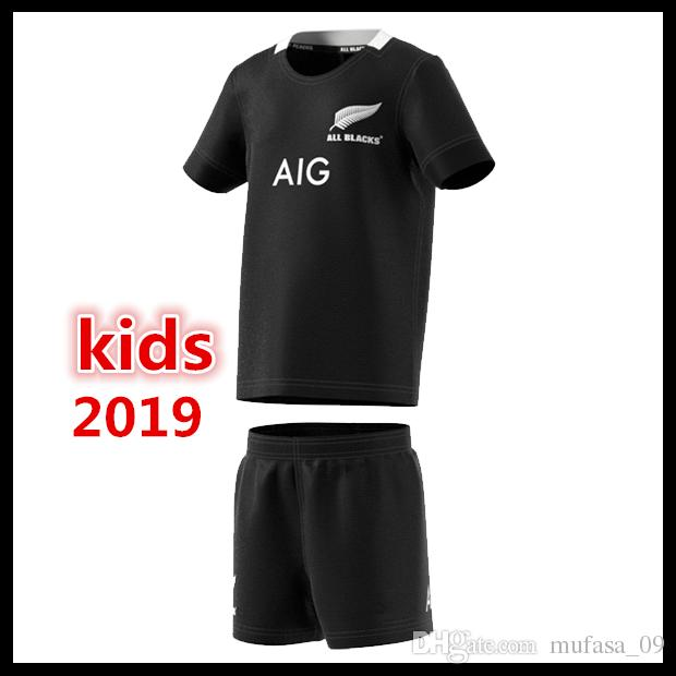 4de9d9fbb Best Quality 2019 New Zealand All Blacks Kids Mini Kit Home Rugby ...