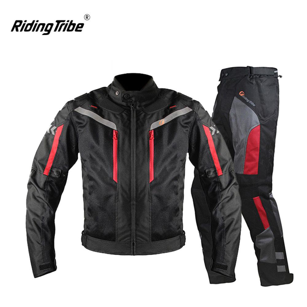 2019 Riding Tribe Motorcycle Jacket Men Breathable Motorcycle Pants