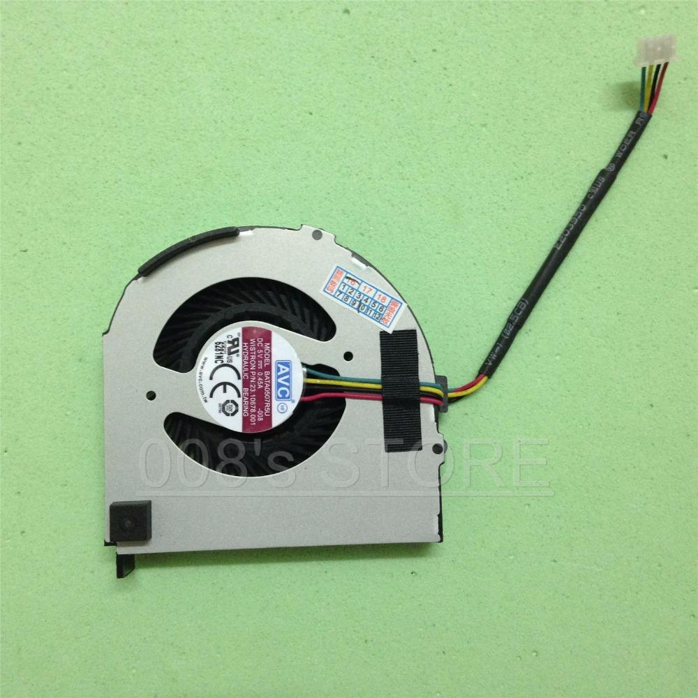 Novo Ventilador Do Refrigerador De Refrigeração Do CPU Para Lenovo ThinkPad  X220i X220 X230 Notebook Por AVC BATA0507R5U DC 5 V 0 45A -008