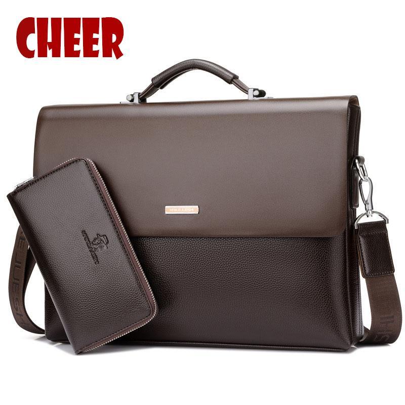 fb64cad658 2017 New Fashion Men Bag High Capacity Handbag Messenger Bags Business  Briefcase Designer High Quality Laptop Bag Shoulder Red Handbags Pink  Handbags From ...