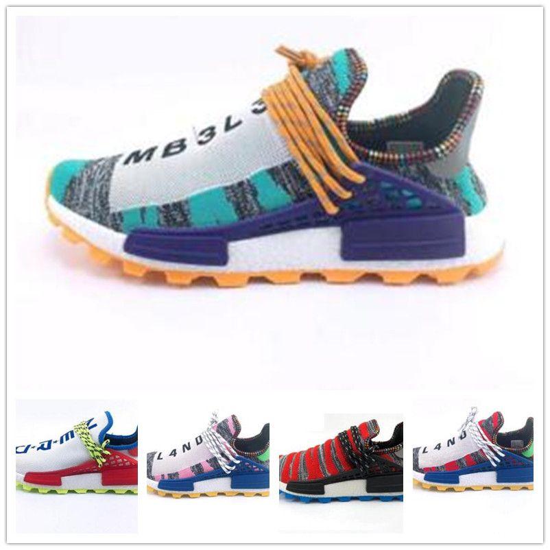 the latest 55949 b15ec Descuento Pharrell Williams Zapato Human Race Diseñador De Alta Calidad  Zapatilla De Deporte Zapatillas De Deporte Para Hombre Zapatillas De  Deporte Para ...