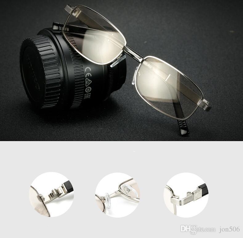 c9c1d1ce612d5 Compre Homens Retro Vintage Transição Photochromic Leitores De Óculos De  Leitura Uv400 Proteger Óculos De Sol +1.00 ~ +4.00 Eyewears De Jon506, ...