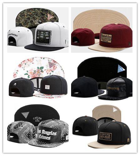 Hot Cool 2018 New CAYLER   SON Hats New Snapback Caps Men Snapback Cap  Cheap Snapbacks Sports Fashion Caps Brand Hip Hip Baseball Hats The Game  Hats Baby ... 74b8d2c6341
