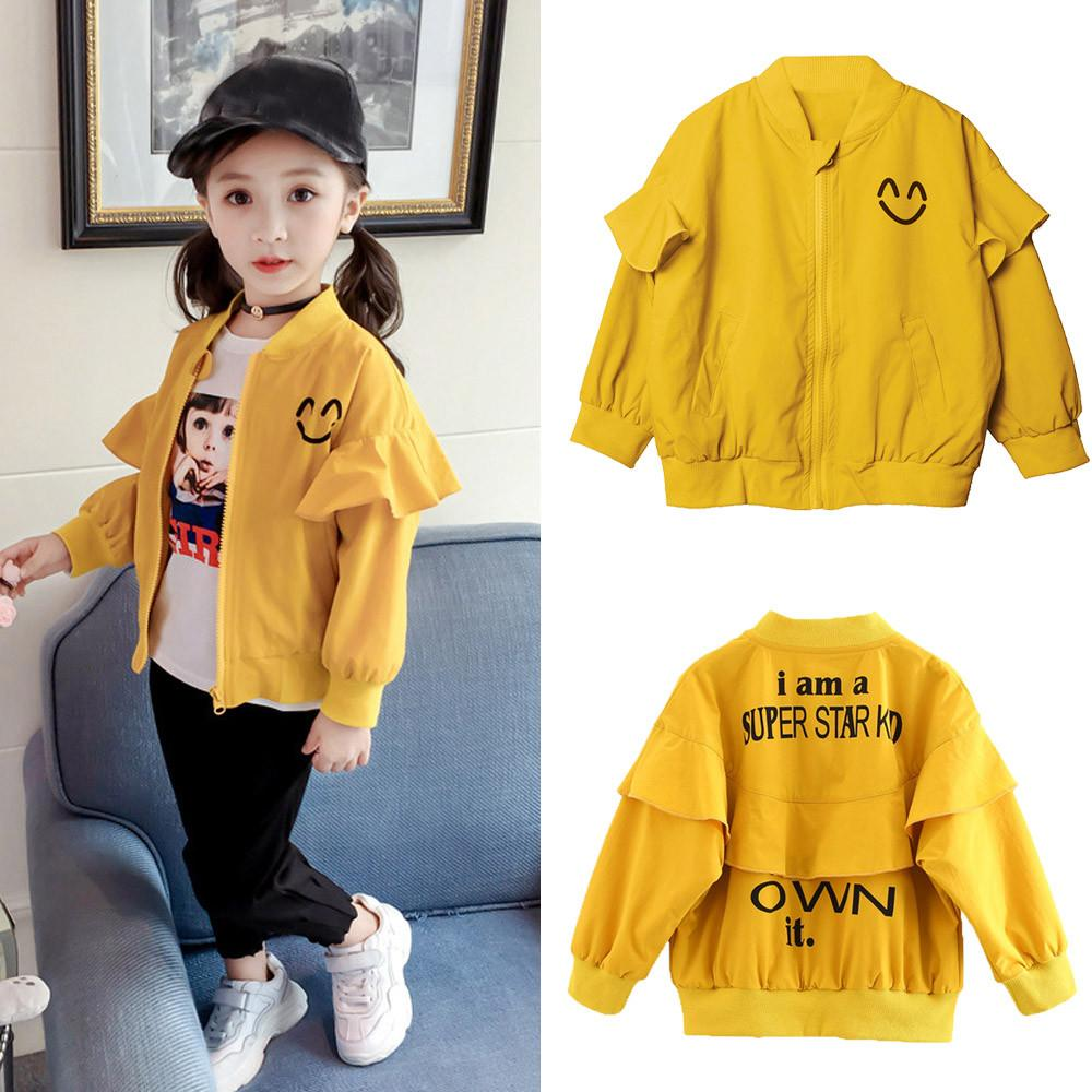5ca3271aa MUQGEW Hot sale Toddler Kids Baby Grils Boys Long Sleeve Jacket Print  Letter Coat Tops Outfits Dropshipping Baby Clothes