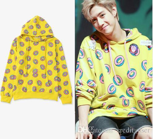 cdb81335d2db83 2019 GOT7 Hoodies Mark Just Right Donut Hoodie Jung Kook Sweatershirts Exo  Hoodie Kai Gift From Credit user