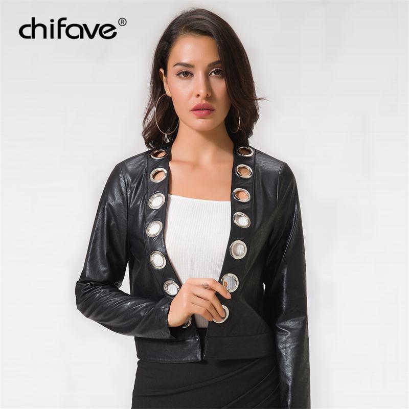 Acheter 2018 Moto PU Veste En Cuir Femmes Automne Hiver Mode Manteau  Survêtement Femme Plus La Taille Noir Doux Court Vestes Chifave De  28.4 Du  Caesarl ... 4e79ef3fd0d