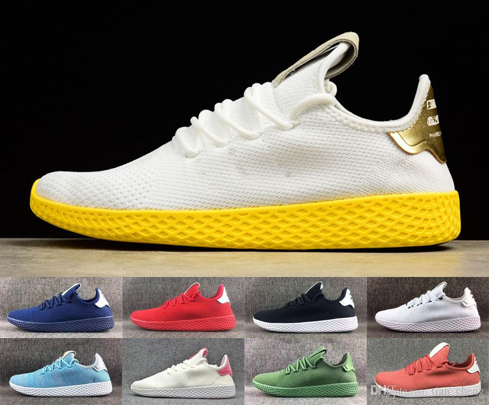 New Tennis Hu Mens Running Shoes Pharrell Williams X Stan Smith Womens  Multicolor Triple S Trainers Sports Sneakers Tennis Hu Mens Running Shoes Tennis  Hu ... 12ea47ce05