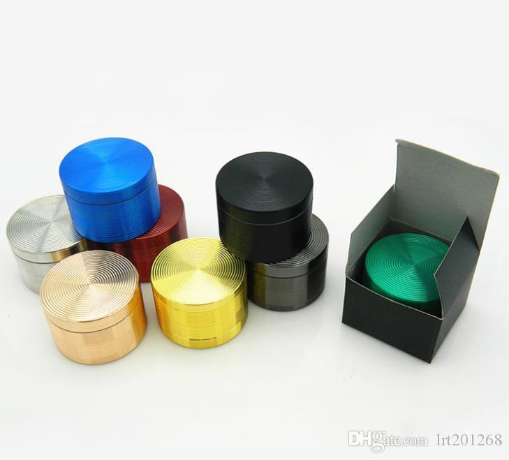 Allume-cigare de couleur pure de 4 couches Allume-cigare de fil de conception cylindrique multicolore 63MM