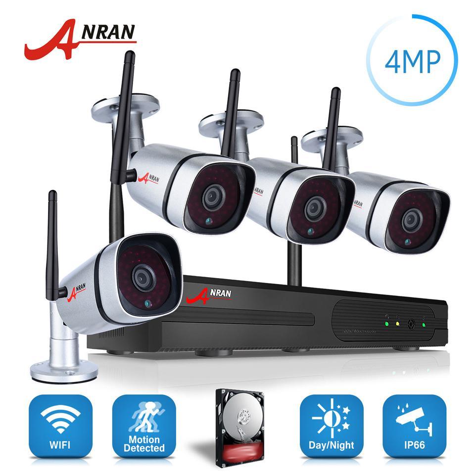 2018 Anran Plug Play P2p 1440p Hd Wireless Security Camera System ...