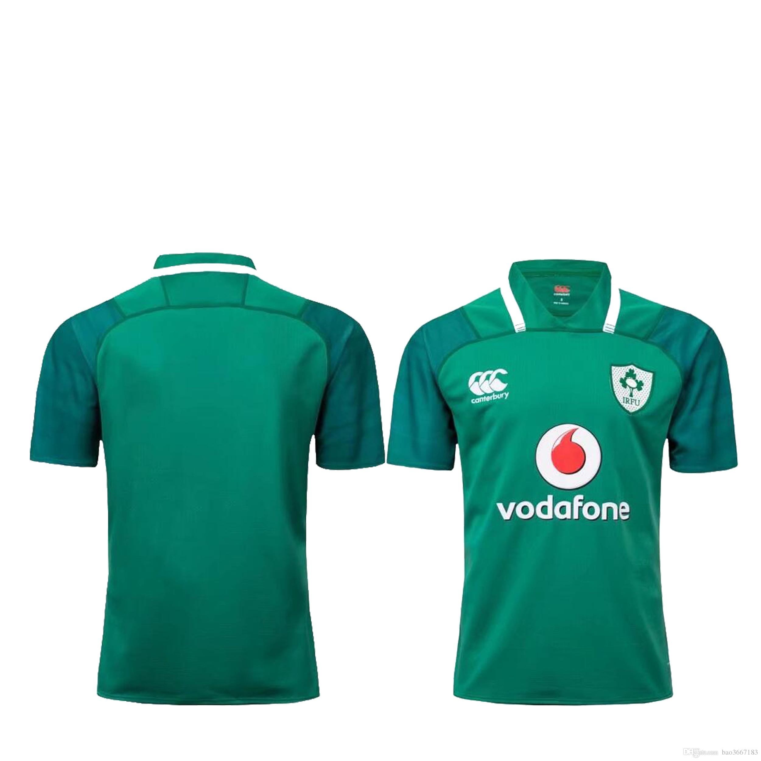 171c941441e78 2019 Ireland Rugby Home Pro Jersey 2017 2018 Size S M L XL XXL XXXL 2017  2018 IRFU Rugby Shirt From Bao3667183, $15.82 | DHgate.Com