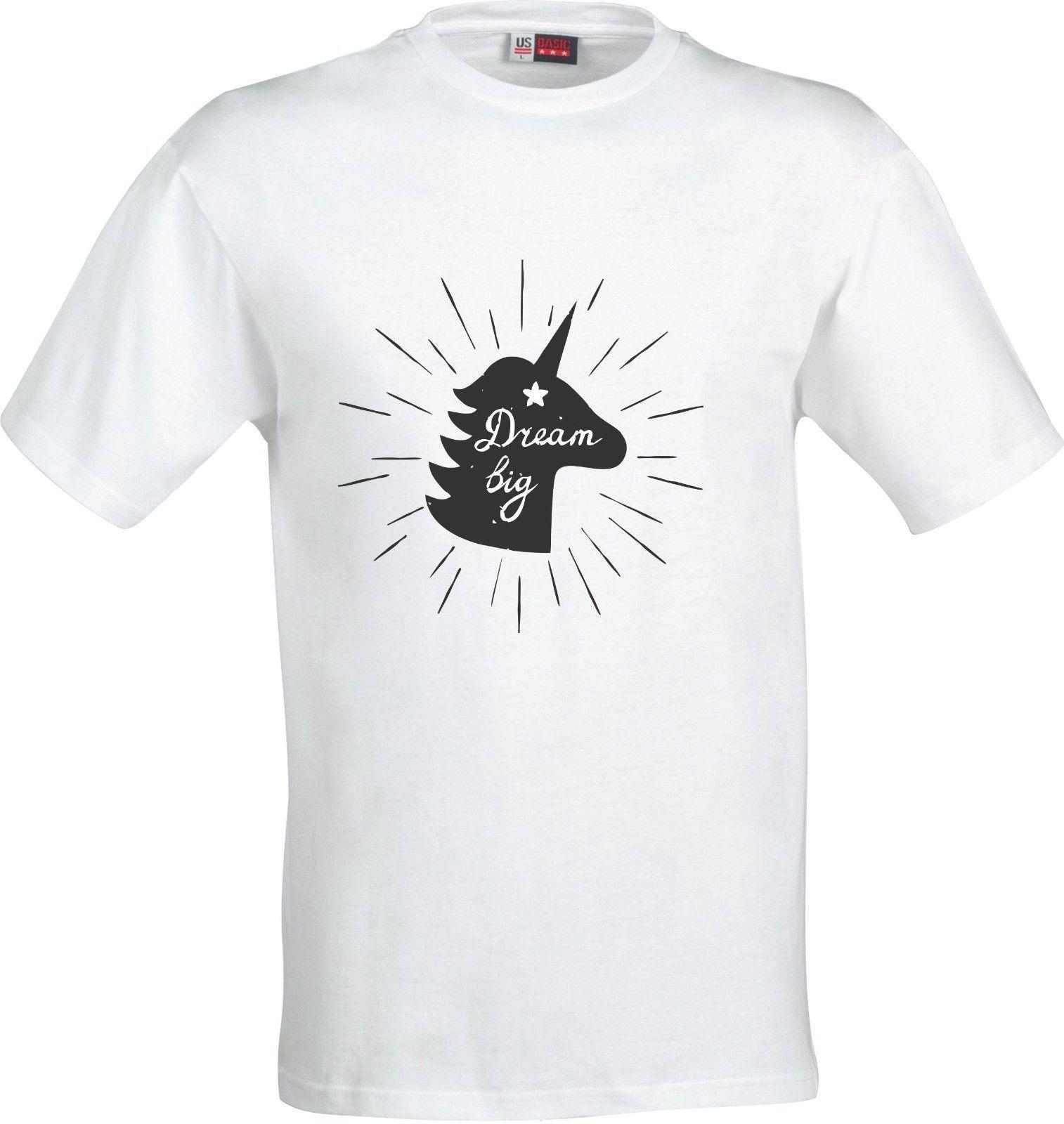 a6d440ace UNICORN DREAM BIG GIFT CHRISTMAS BIRTHDAY FULL COLOR SUBLIMATION T SHIRT  Business Shirt Retro Tees From Xm24tshirt, $12.05  DHgate.Com