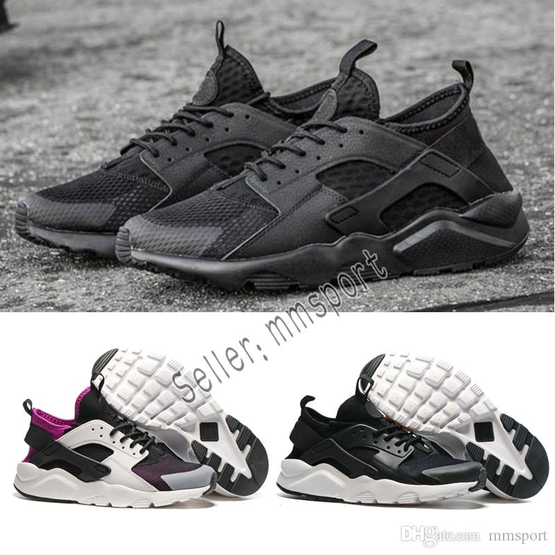super popular a94aa ebb1e ... coupon code for compre zapatillas de running 2018 nike air huarache 1.0  triple blanco negro rojo
