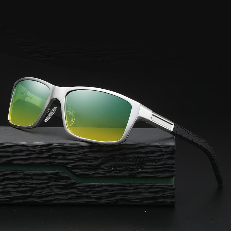 78d00d883ce3 2018 Day Night Vision HD Driving Polarized Sunglasses Men s Driving Sun Glasses  Male Anti Glare Aluminum Magnesium Glasses UV400 Tifosi Sunglasses Cheap ...