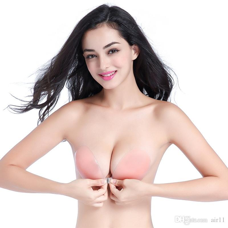 687ec15f28 Silicone Invisible Bra Inserts Pads Push Up Enhancer Breast Strapless Free  Bra Reusable Opp Bag Online with  3.9 Piece on Air11 s Store