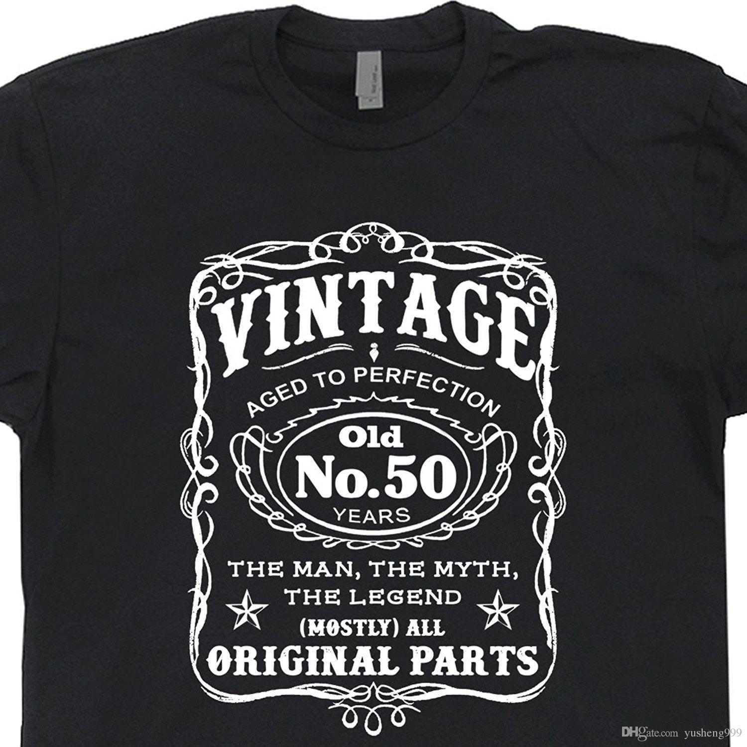 50th Birthday T Shirt 1966 Novelty Tee Shirts Gag Gift Vintage Present Dad Husband Old Fart Awesome Tshirt Designs 10 From Yusheng999