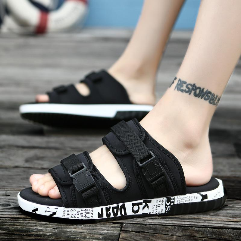 d922068267642 2018 Summer New Vietnam Beach Men s Sandals Korean Student ...