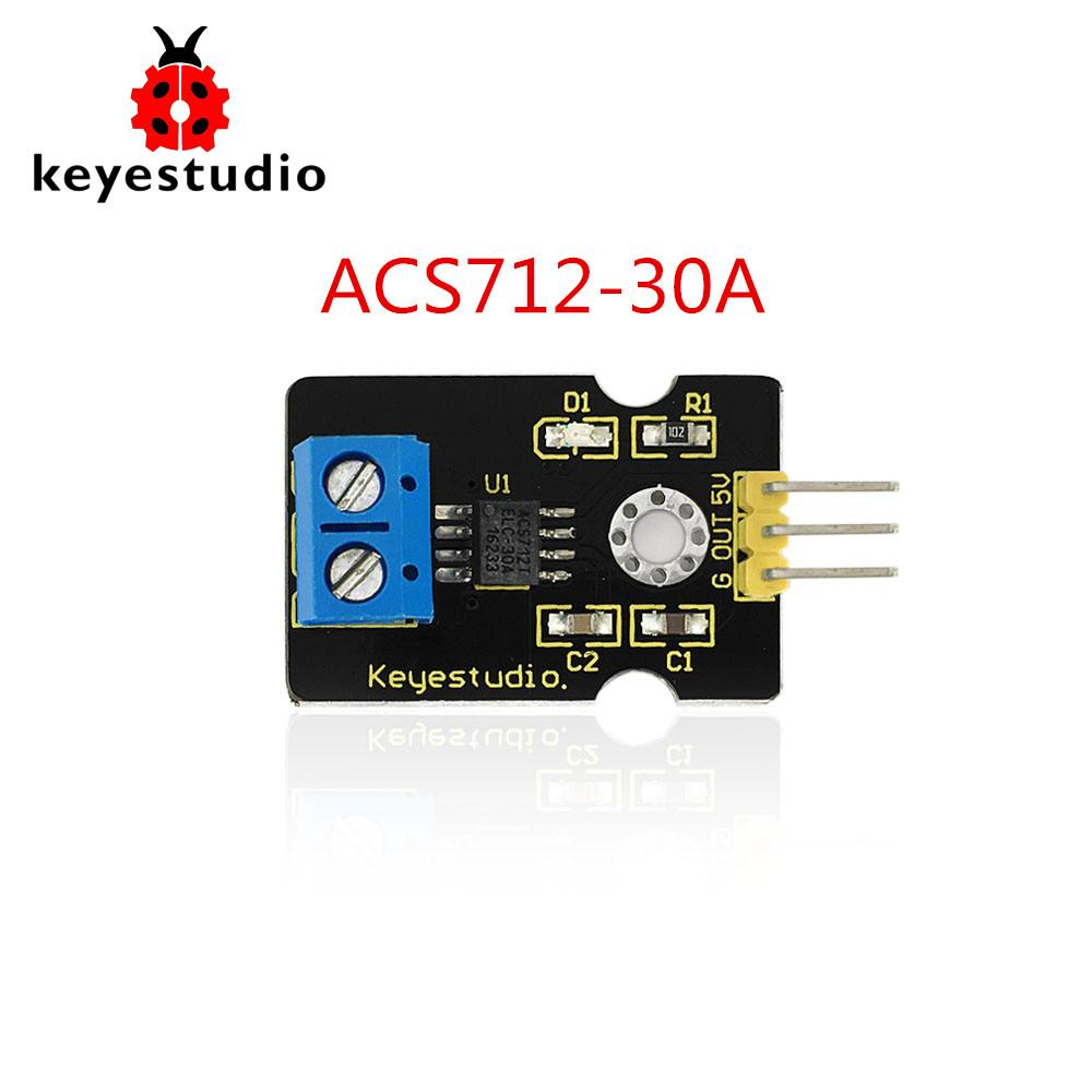 Free shipping!Keyestudio ACS712-30A Current Sensor for Arduino Compatible