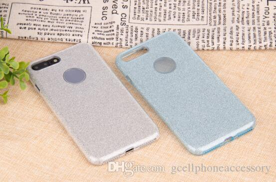 High quality x flash phone case for iphone 6s / 7 / 8 plus three-in-one tpu protective cover
