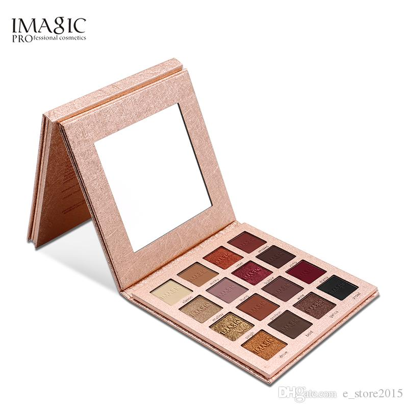 Brand 16 Color Eyeshadow Pallete Pigmented Smoky Eyeshadow Palette Matte Shimmer Glitter Cosmetic Makeup Eyeshadow Palette Beauty Essentials