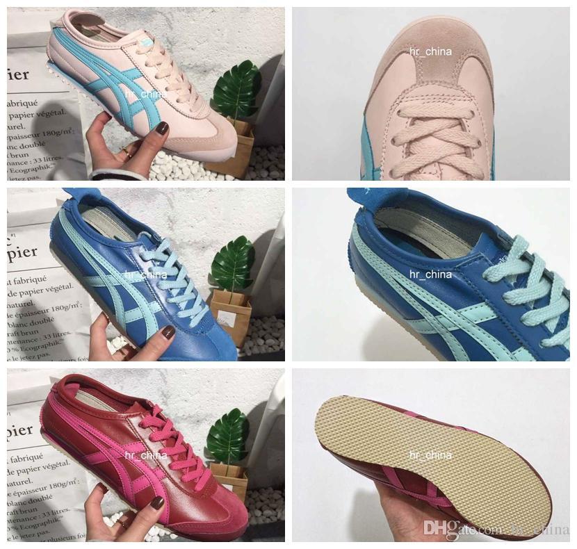 da844e4980f Compre 2018 Nuevo Estilo Asics Onitsuka Tiger Zapatillas De Running Para  Mujer