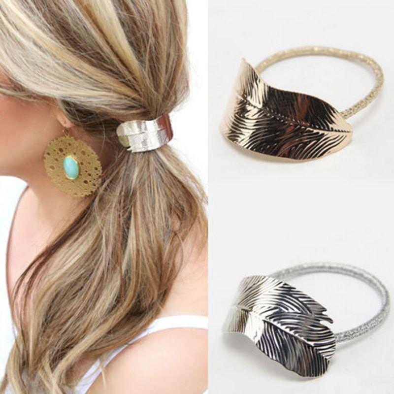 Yanqueens Leaves Pendant Hair Clips Hairpins Hair Wear Accessories ...