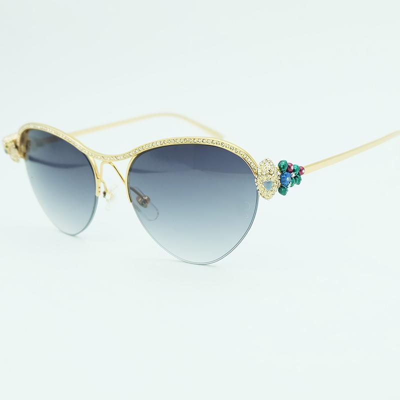 f5b453dc55e Heat Sunglasses Women 2018 Luxury Rhinestone Lady Sunglass Diamond Party Eyewear  Fashion Decoration Brand Sun Glasses Sunglass Cheap Sunglasses From ...