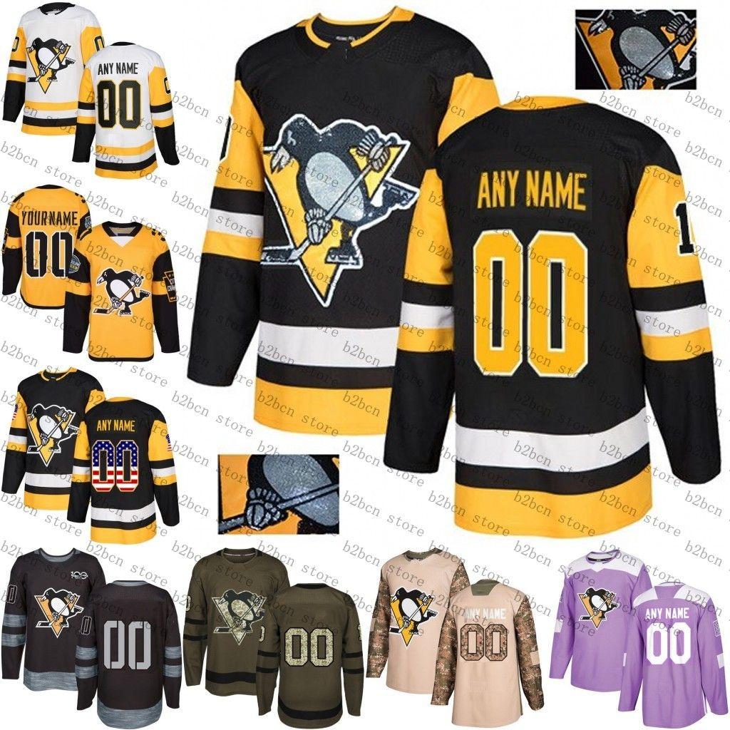 2019 Stadium Series Custom Pittsburgh Penguins Mens Womens Youth ... e5077acd5