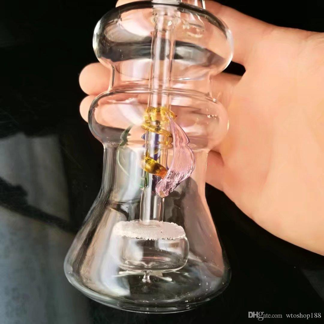 Специальный цвет песка ядро немой кальян , Оптовая стеклянные бонги нефти водопроводные трубы стеклянные трубы нефтяные вышки курение ,Бесплатная доставка