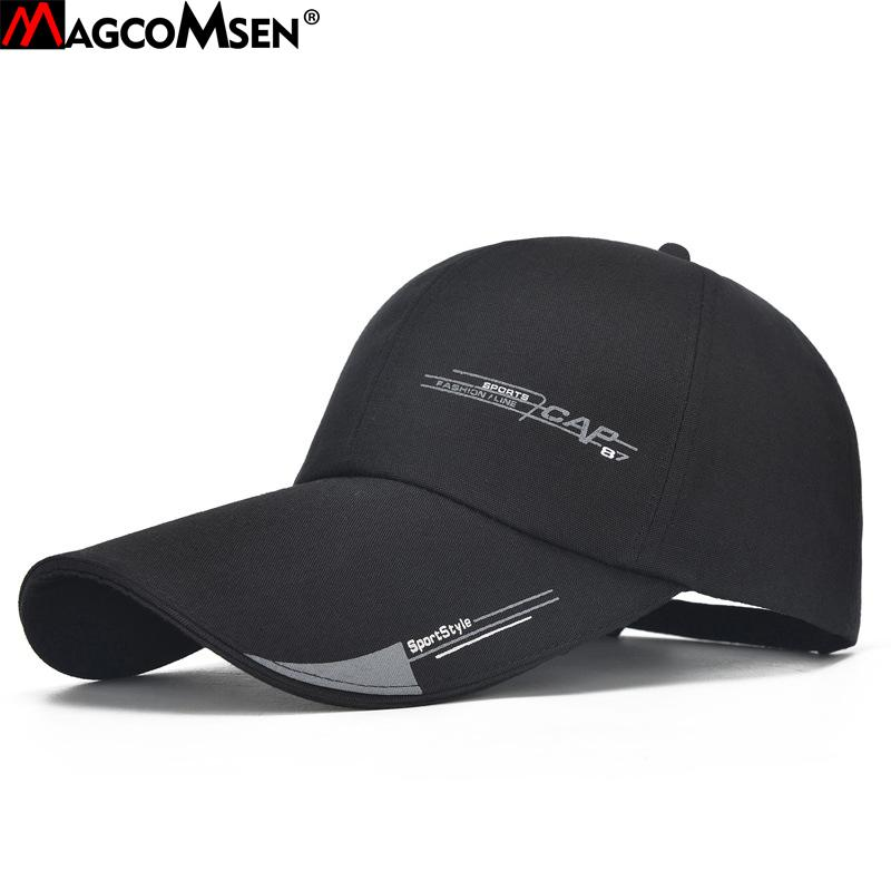 70f91b670c2e94 MAGCOMSEN Baseball Caps Men And Women Summer Sun-proof Hats Fashion ...