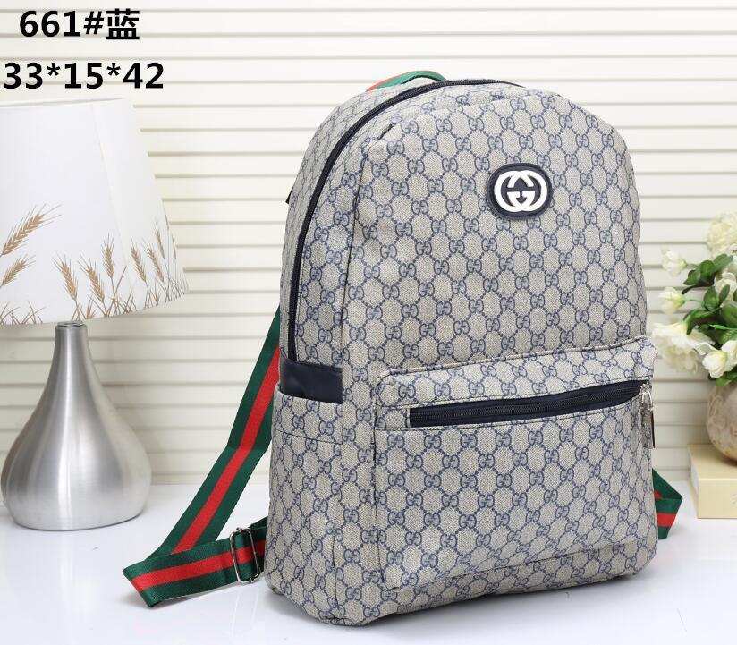 79e3727f49 AAAAA Fashion Designer Backpack 2018 New G Embroidery Tiger Head Men   Women  Backpack Luxury Brand Fashion Bags Online with  35.74 Piece on Uhoo s Store  ...