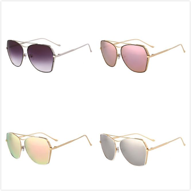 9253cd9343 Wholesale Cheap Top Quality Fashion Street Trend Sunglasses Gradient  Colored Lenses Full Frame Pilot Sun Glasses Mix Color Sports Sunglasses  Cheap ...