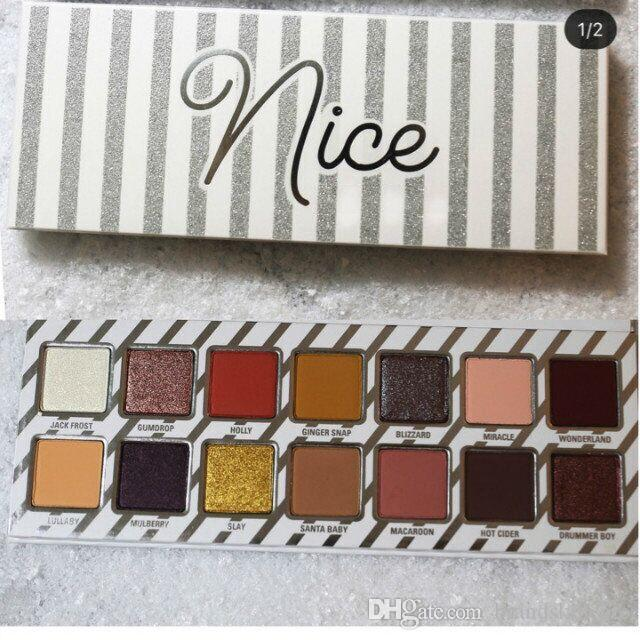 2017 NEUE Kosmetik Frech oder Schön Lidschatten Palette für Geschenk Wählen Sie Ihre Palette schnelles Verschiffen DHL