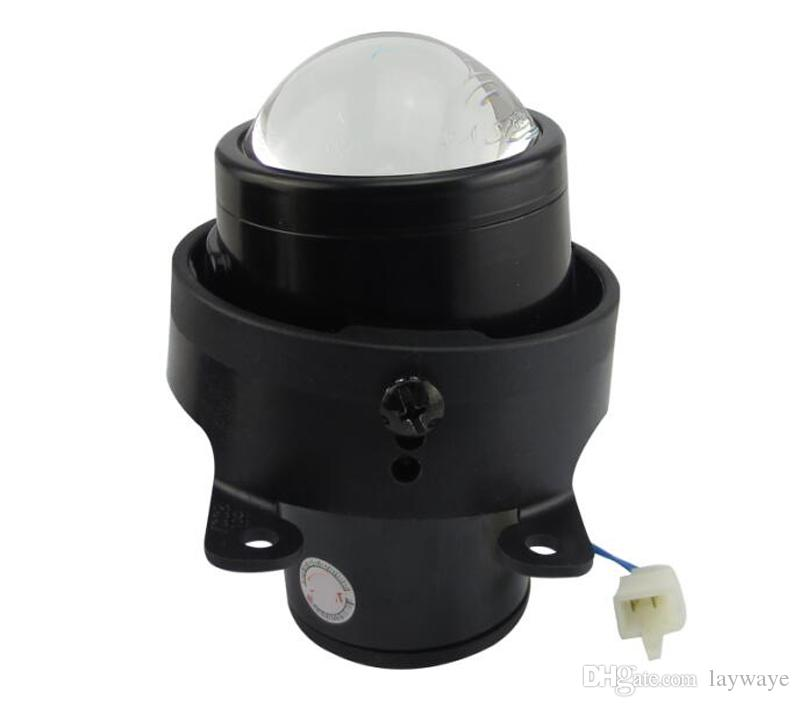 프론트 범퍼 헤드 라이트 로우 하이 빔 스포츠 이중 초점 렌즈 안개등 램프 홀더 하우스 ford 탐색기 에코 포트 선택 포커스 에코 포트 융합